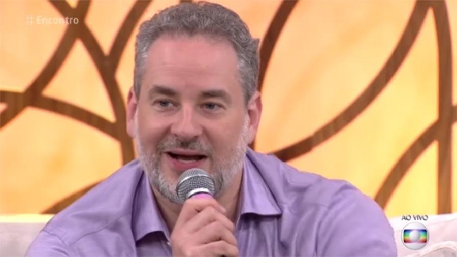 """Dan Stulbach  nio """"Encontro"""" - Reprodução/Globo"""