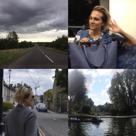 Amalia Stringhini, mulher de Evaristo Costa, curte a Inglaterra - Reprodução/Instagram/stringhinia
