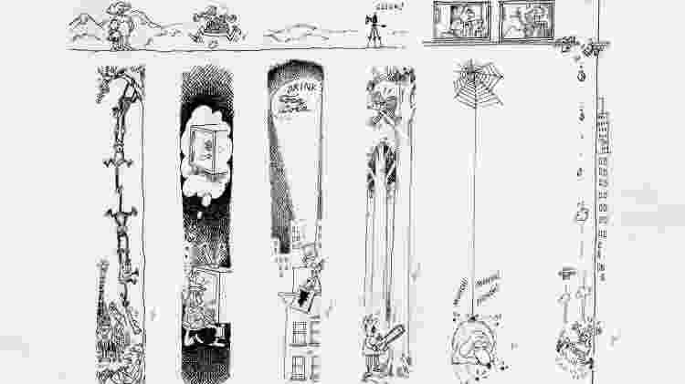 """Os quadrinhos """"marginais"""" de Sergio Aragonés na """"Mad"""" - Reprodução - Reprodução"""