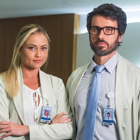 """Ellen Rocche e Eriberto Leão viverão romance em """"O Outro Lado do Paraíso"""" - Globo/Raquel Cunha"""