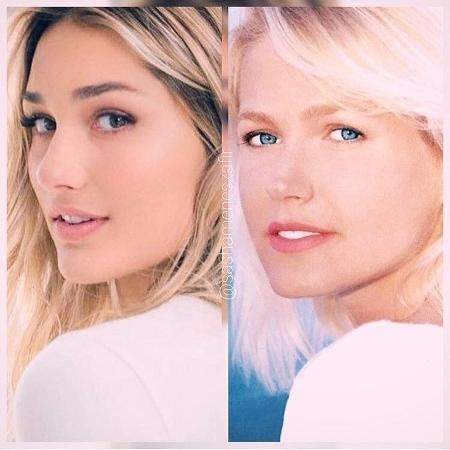Xuxa faz comparação em foto com a filha, Sasha - Reprodução/Instagram