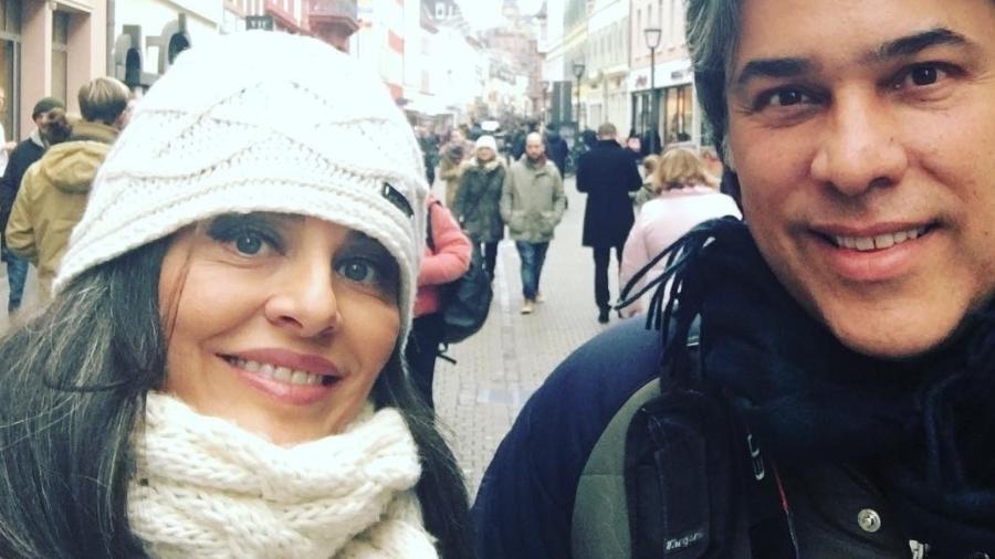 Carla Vilhena faz primeira viagem de lua de mel com o marido, Carlos Monnerat - Reprodução/Instagram/carlavilhenaa