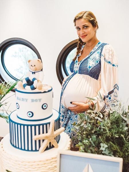 Ana Beatriz Barros na ocasião do chá de bebê de Karim - @anabeatrizbarros