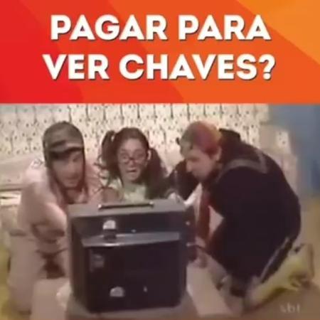 """SBT provoca Multishow após Globosat comprar """"Chaves"""" - Reprodução/Facebook"""
