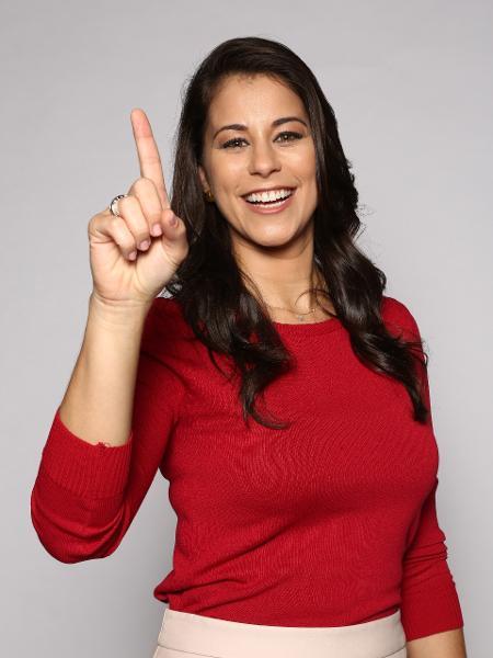 A apresentadora Jéssica Senra - Divulgação