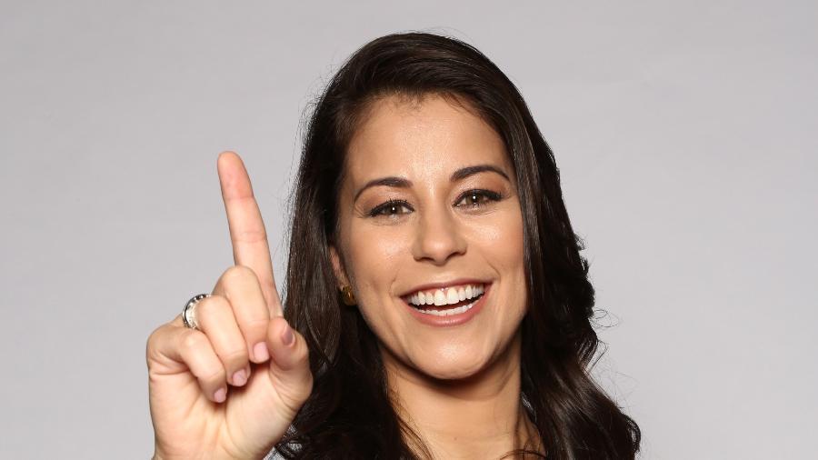 A apresentadora Jessica Senra, que deixou a Record e foi contratada pela Globo - Divulgação