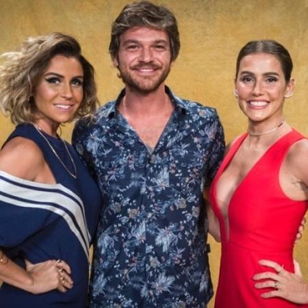 Giovanna Antonelli, Emílio Dantas e Deborah Secco - Reprodução/Rede Globo