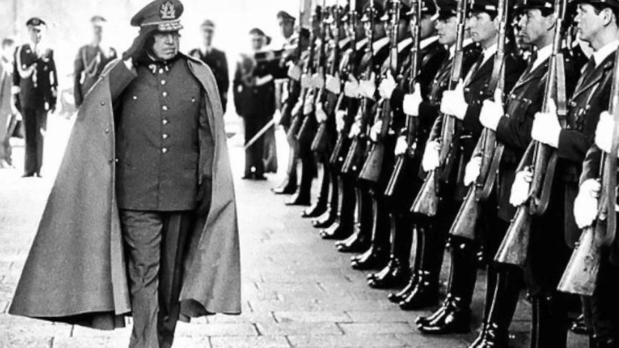 O ditador chileno Augusto Pinochet - Reprodução/YouTube