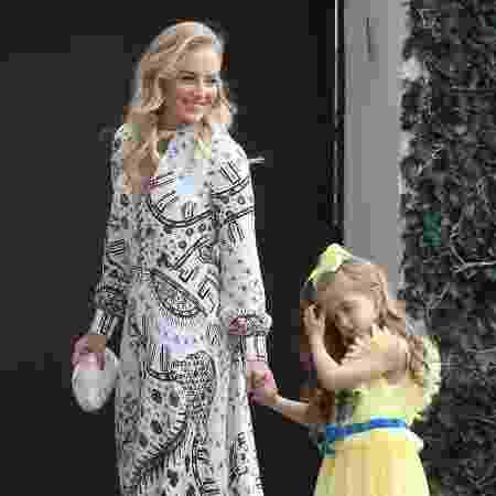 Angélica com a filha Eva - Roberto Filho/Brazil News