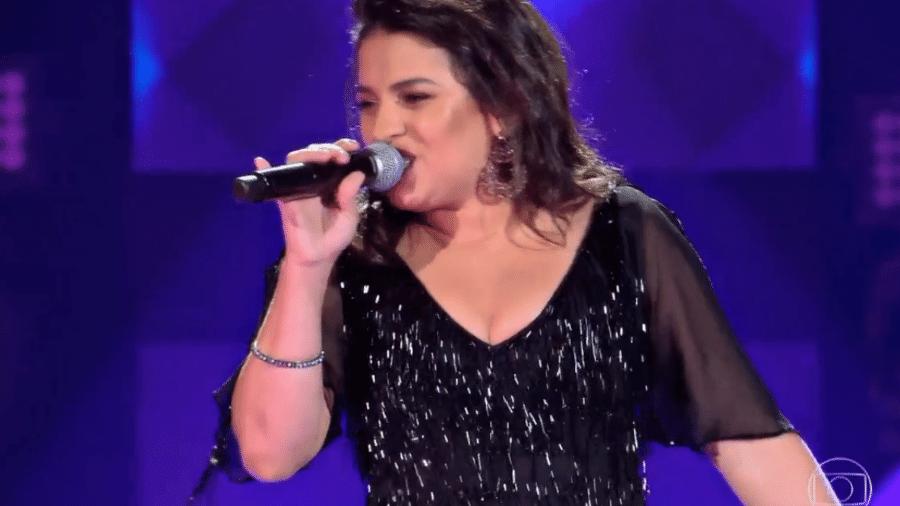 """Indira Mel, de 30 anos, foi aprovada no """"The Voice Brasil"""" - Reprodução/TV Globo"""