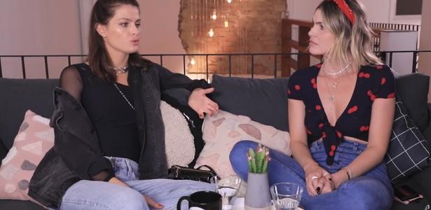 Isabeli Fontana e Júlia Faria