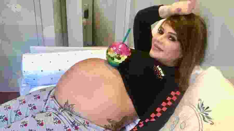 Valentina Francavilla está grávida de um menino, que se chamará Giuseppe - Reprodução/Instagram