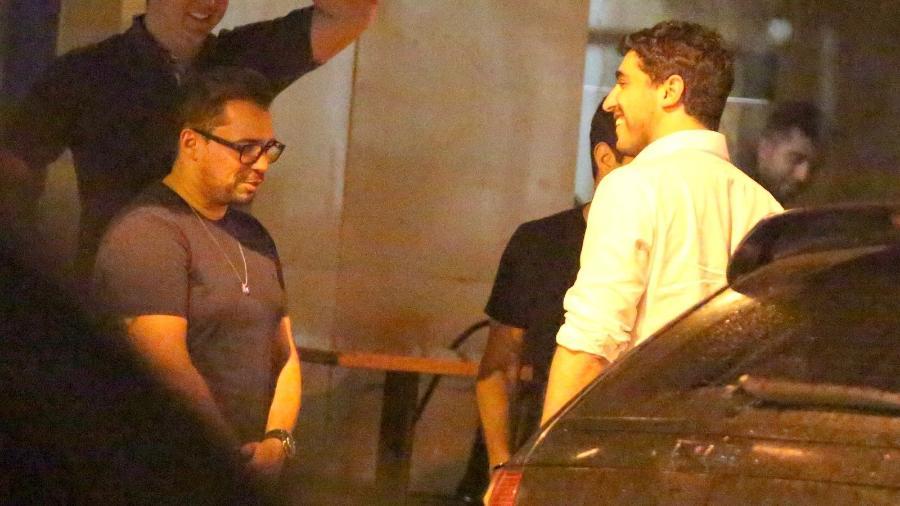 Thiago Magalhães, ex-marido de Anitta, janta com Xand Avião no Rio - Thiago Martins/Ag.News