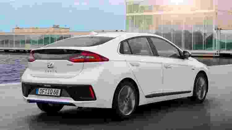 Hyundai Ioniq 2 - Divulgação - Divulgação