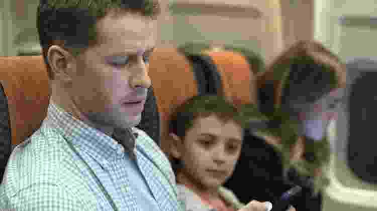 Josh Dallas em cena do piloto de Manifest - Divulgação/NBC - Divulgação/NBC