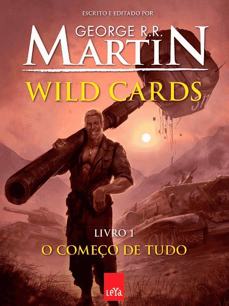 """Capa do livro """"Wild Cards"""", de George R. R. Martin - Reprodução - Reprodução"""
