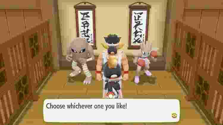A escolha mais difícil de Pokémon desde o início da franquia - Reprodução