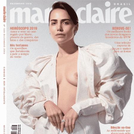 """Leticia Colin na capa da revista """"Marie Claire"""" - Reprodução/Instagram - Reprodução/Instagram"""