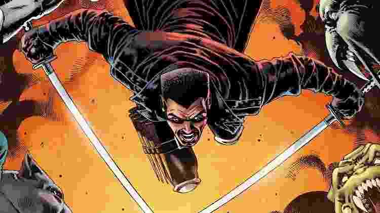 O personagem Blade, da Marvel - Reprodução - Reprodução