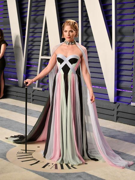 Selma Blair na festa pós-Oscar da Vanity Fair - AFP