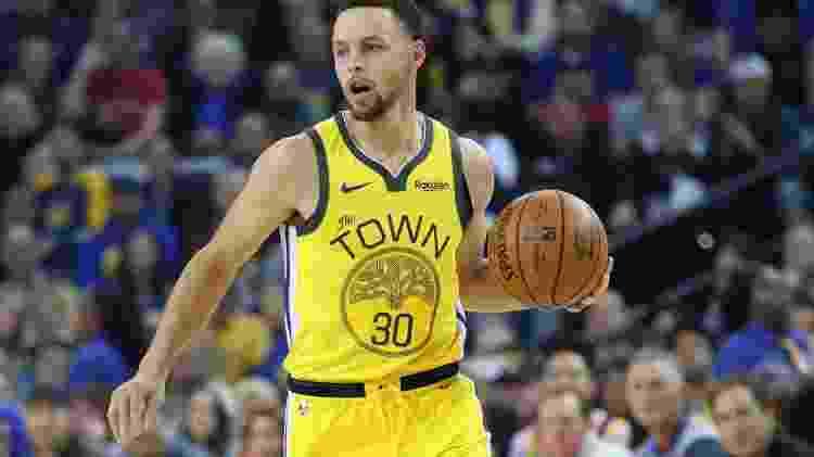 Curry vai receber US$ 40 milhões de dólares na próxima temporada - Cary Edmondson-USA TODAY Sports