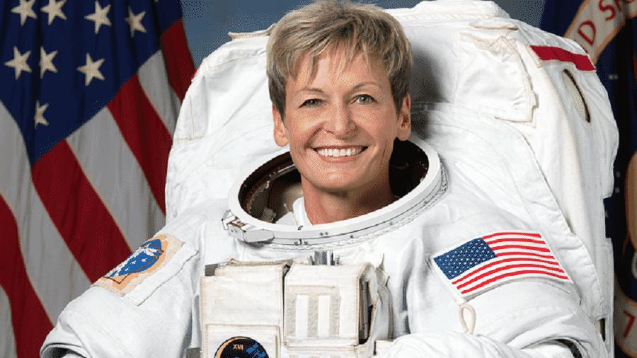 A astronauta Peggy Whitson é a pessoa, entre os americanos, que passou mais tempo no espaço; é também a primeira mulher a comandar uma estação espacial - Nasa
