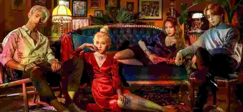 O grupo de k-pop KARD - Divulgação