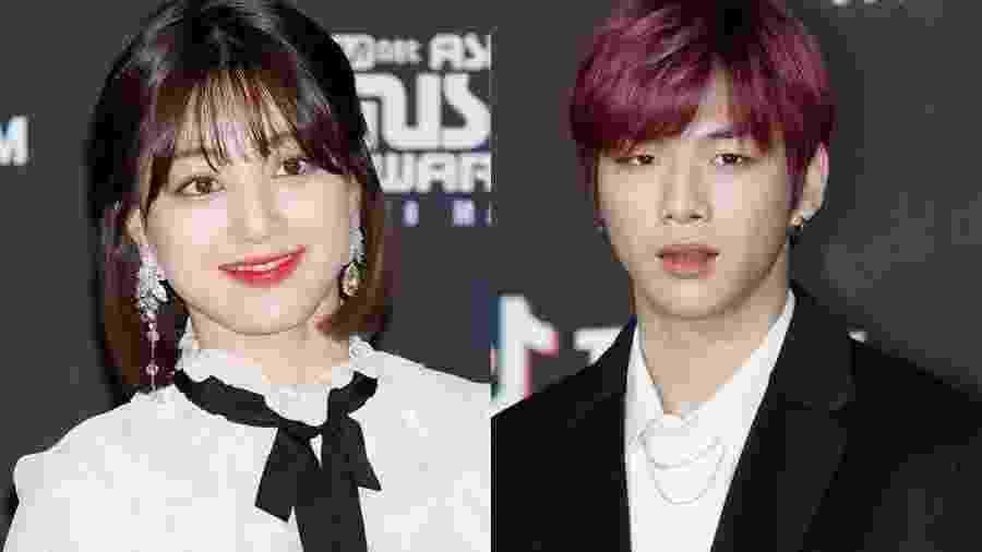 Jihyo e Kang Daniel estão namorando - Reprodução