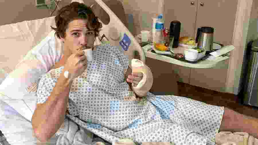 Rômulo Arantes Neto se recupera de cirurgia; ator já recebeu alta - Reprodução/Instagram