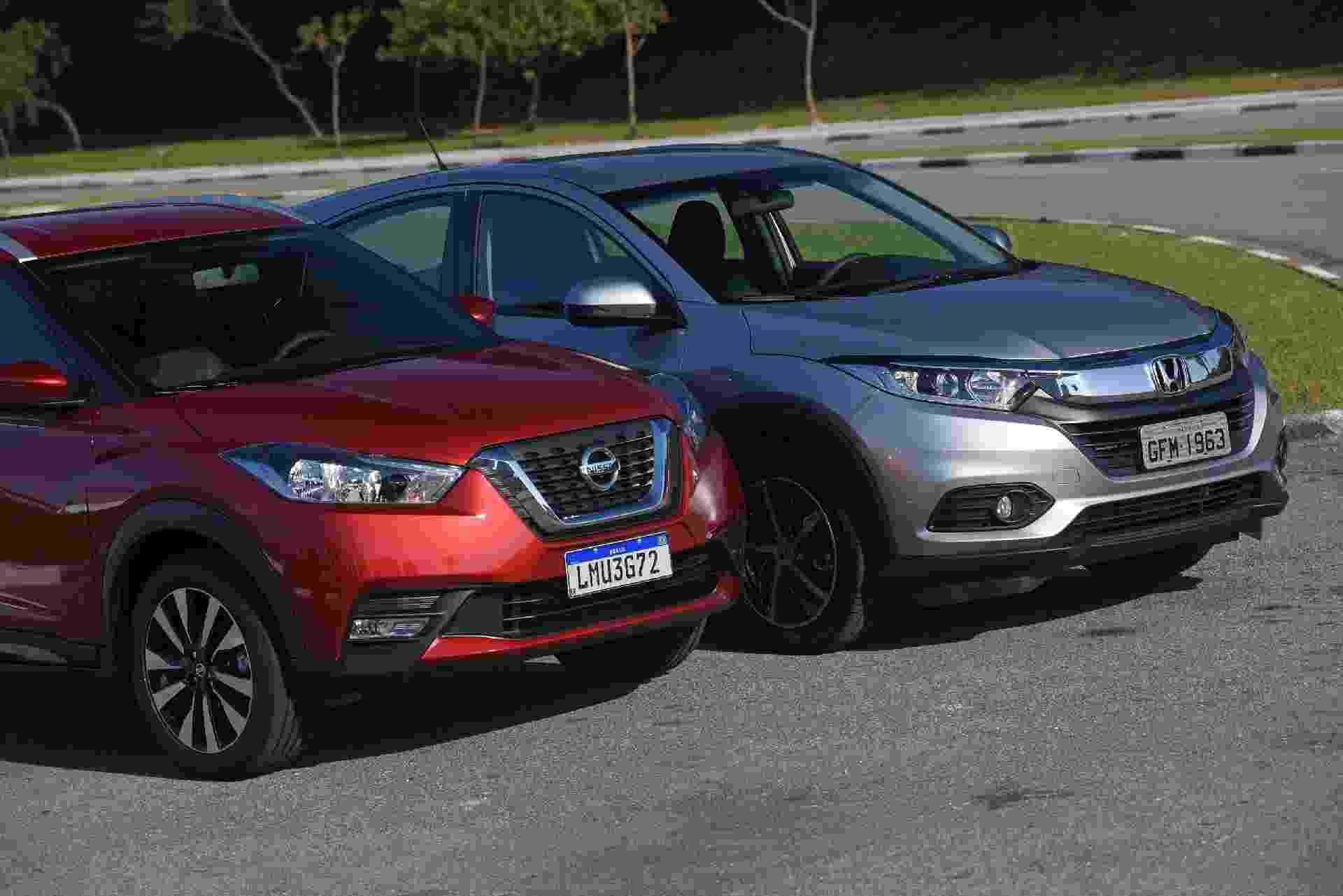 Duelo: Honda HR-V x Nissan Kicks - Murilo Góes/UOL