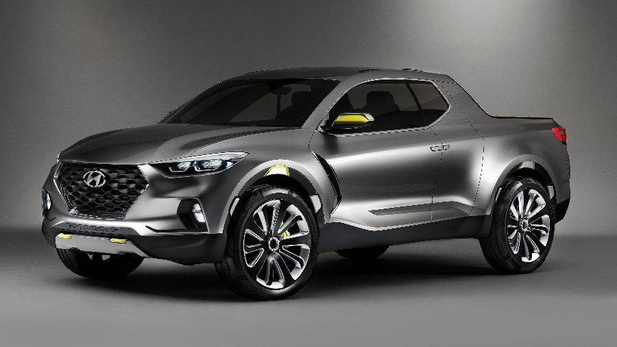 Hyundai Santa Cruz Concept - Divulgação