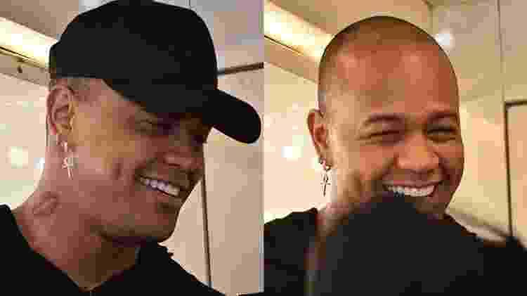 Léo Santana mostra resultado do implante capilar - Felipe Souto Maior/ ag.News - Felipe Souto Maior/ ag.News