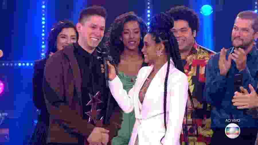 Jakson Folmann vence Popstar, competição musical da Globo - Reprodução/TV Globo