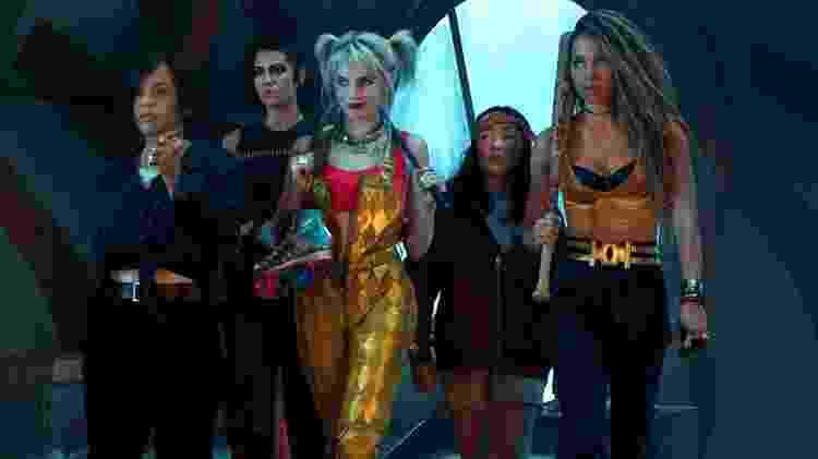 As Aves de Rapina em cena do filme da DC - Divulgação - Divulgação