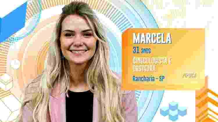Marcela - Divulgação/TV Globo - Divulgação/TV Globo