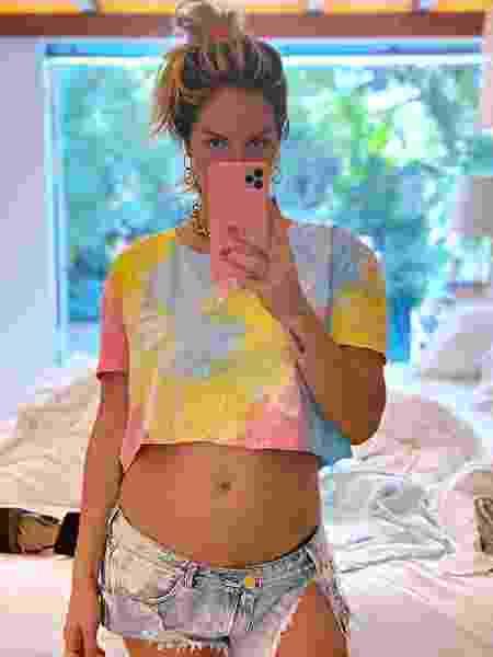 Giovanna Ewbank, no quinto mês de gravidez - Reprodução/Instagram