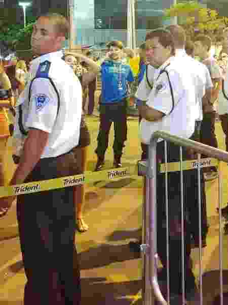 Saulo Poncio é barrado em camarote no Rio - Coluna do Leo Dias