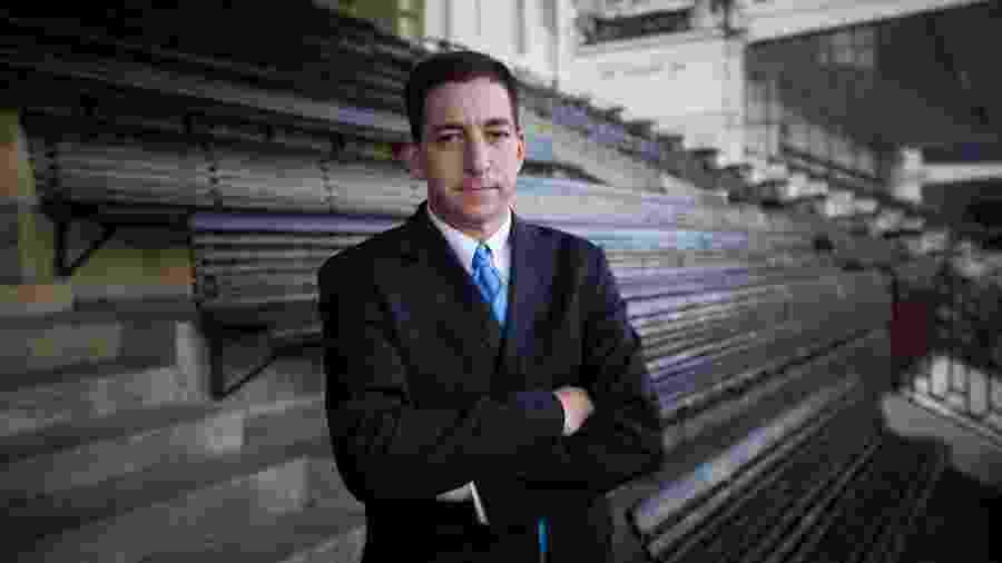 Retrato do jornalista Glenn Greenwald - Daniel Marenco/Folhapress