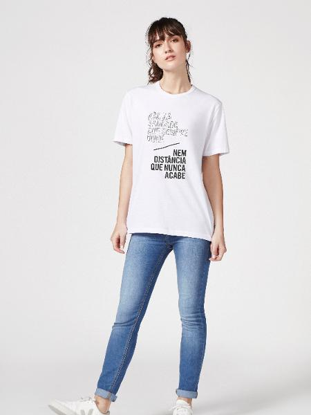 """Coleção """"Camisetas do Amor"""", da Hering - Divulgação/Hering"""