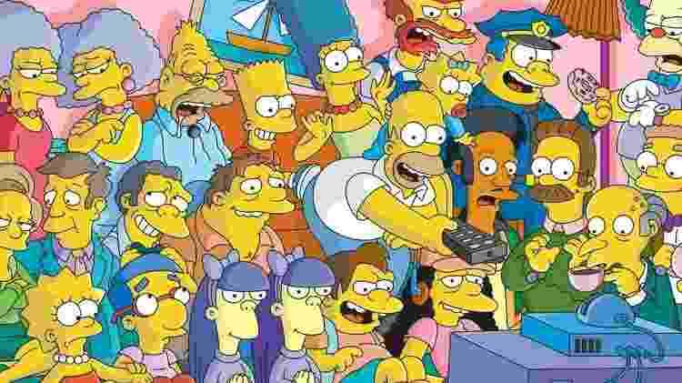 Os Simpsons - Divulgação - Divulgação