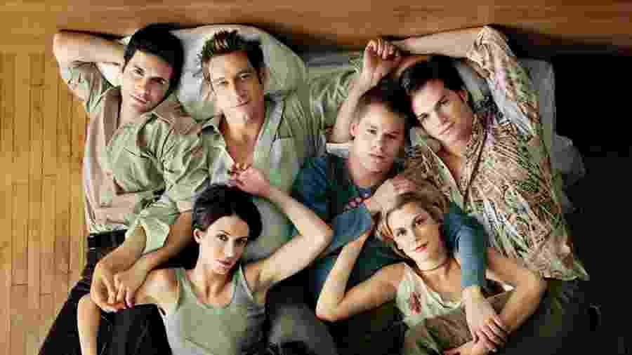 """Série Queer as Folk foi exibida entre 2000 e 2005 e no Brasil chamava-se """"Os Assumidos"""" - Divulgação"""