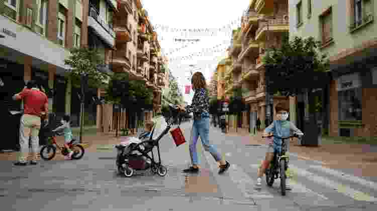 Espanha coronavírus - familia - Getty Images - Getty Images