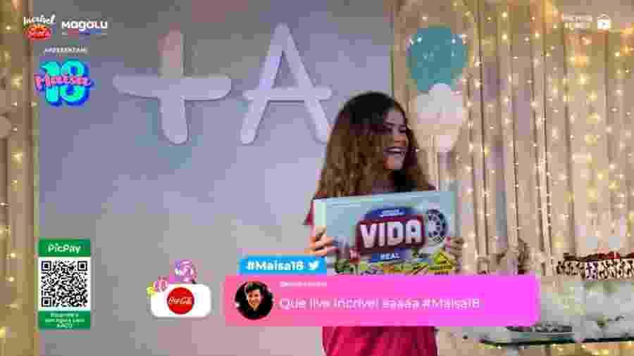 """Maísa recebe um """"presente de grego"""" de Yudi Tamashiro e Priscilla Alcântara - Reprodução/Instagram"""