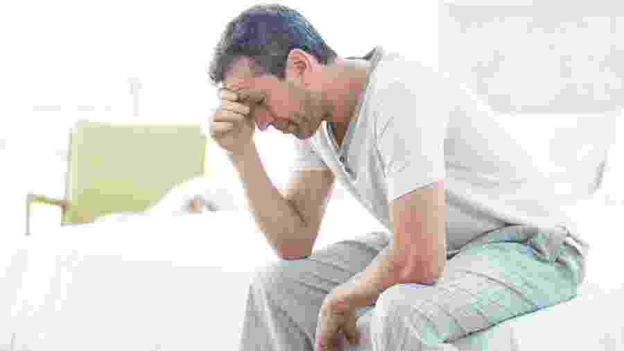 A andropausa pode afetar os homens a partir dos 40 anos e tem como sinais redução da vitalidade, sintomas depressivos, perda de libido, insônia  - iStock