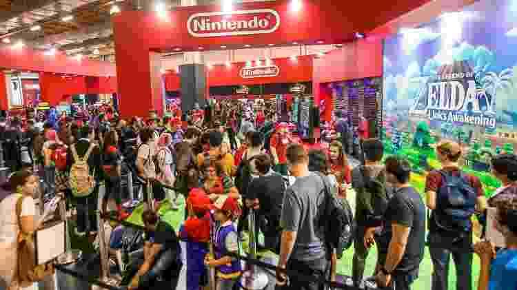 Estande Nintendo BGS 2019 - Bruno Contrino/BGS - Bruno Contrino/BGS