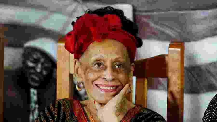 Cantora cubana Omara Portuondo em Havana - ALEXANDRE MENEGHINI/REUTERS