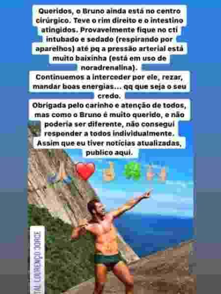 Post Bruno Borat - Reprodução/Instagram - Reprodução/Instagram