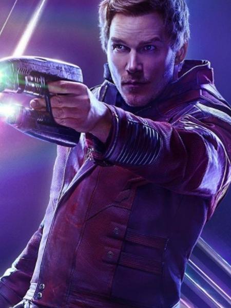 """Chris Pratt em """"Guerra Infinita"""" da saga """"Vingadores"""" da Marvel - Reprodução/ Instagram"""