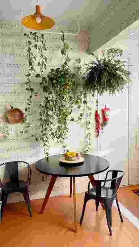 Azulejos vintage na cozinha do designer de interiores Wallace Santiago (8) - Arquivo pessoal - Arquivo pessoal