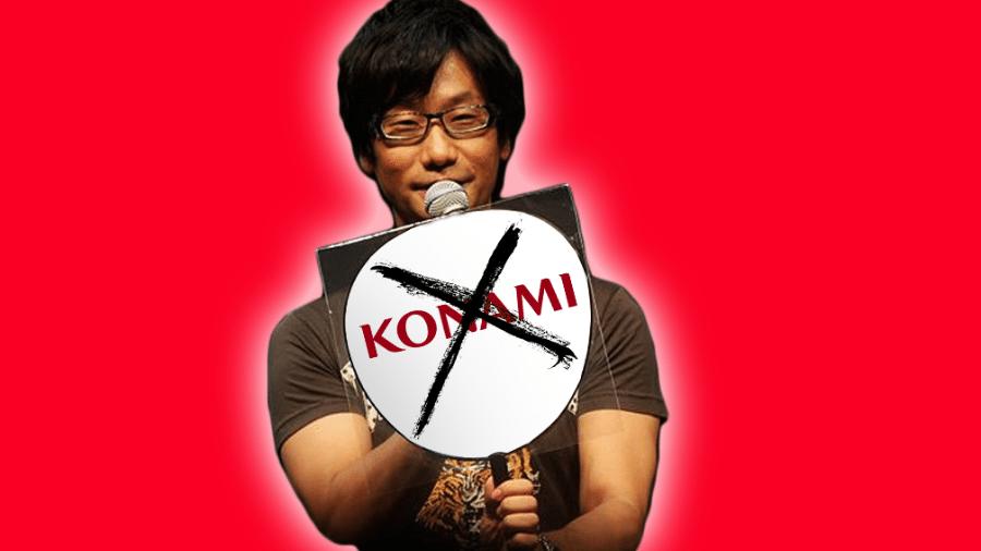 Hideo Kojima x Konami - Montagem: Allan Francisco / Nikita (CC BY 2.0)